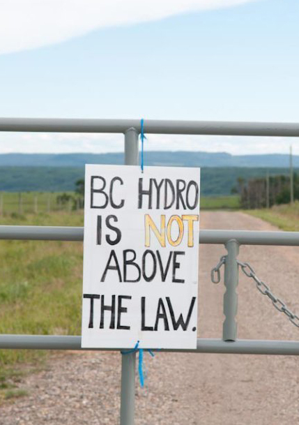 BREAKING NEWS: The Canadian government won't oppose First Nations injunction on the Site C Dam