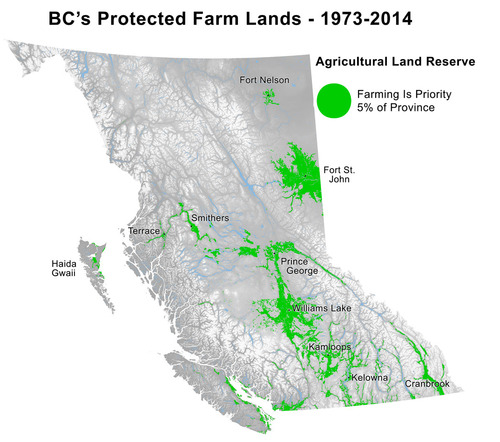 BC's farmlands open to fracking & other development? Stop Bill 24