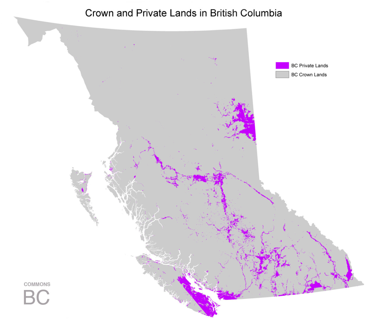 Crown and Private Lands in British Columbia